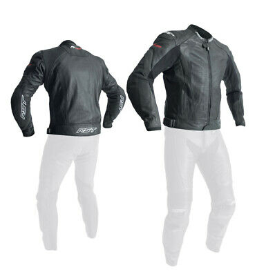 NEW RST R-18 Leather Motorcycle Race Jacket