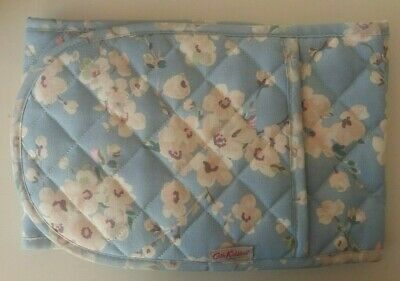Cath Kidston Double Oven Gloves Wellesly Blossom Blue