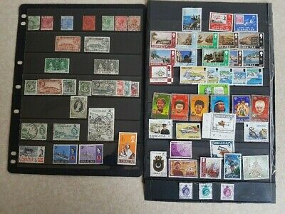 Gibraltar - Selection of Mint Hinged and Used Stamps Issued Between 1886 & 2014