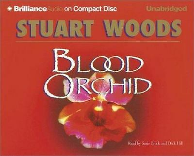 Blood Orchid [Holly Barker Series] Stuart Woods Ex Library