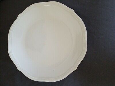 Lenox French Perle Bead 4-Piece Place Setting, White OPEN BOX ! NEVER BEEN USED!