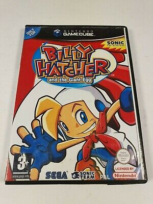 Billy Hatcher and the Giant Egg - Nintendo Gamecube Game Sonic Team