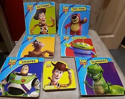 Collection Of Toy Story Board Books (7)