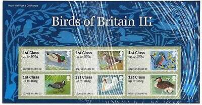 GB 2011 Birds of Britain III 3 post & go pack Mint MNH