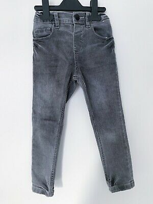 Primark Boys Black Jeans Age 4-5 Slim Fit
