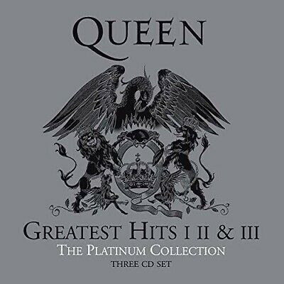 QUEEN - THE PLATINUM COLLECTION GREATEST HITS 1 2 & 3  (CD) sealed - UK posted