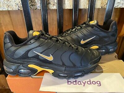 NIKE AIR MAX Plus Tn Leather SAMPLE 2005 US 9 BlackYellow