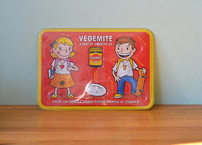 Vintage Vegemite Collectors limited edition placemat maze game 2001 Australiana