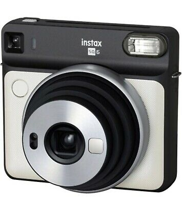Fujifilm 108076174 Instax Square SQ6 Instant Film Camera - Pearl white