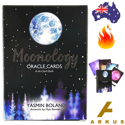 MOONOLOGY Oracle Cards - 44 Card Deck by Yasmin Boland NEW Moon Energy