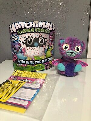 Spin Master Hatchimals Fabula Forest Who Will You Hatch NEW & Surprise Zuffin