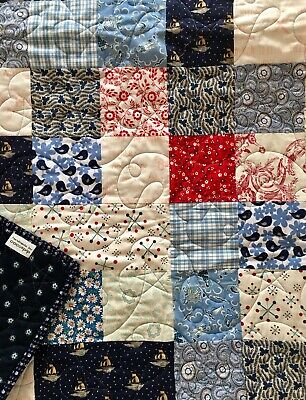 Baby Quilt, Cot quilt, Handmade, Patchwork