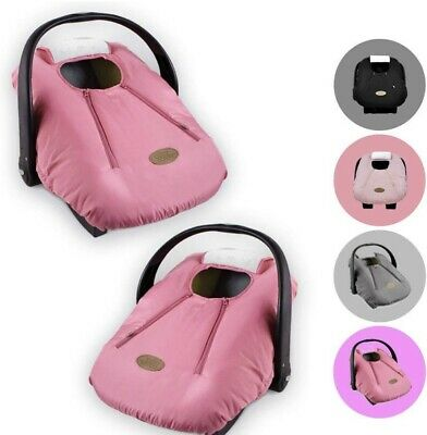 Cozy Cover Infant Car Seat Cover Pink - Industry's Leading Infant Carrier Cover