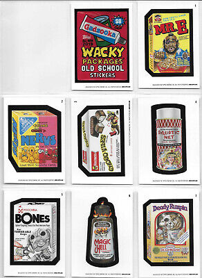 Wacky Packages Online Old School Series 8 Set 30 Cards & Cover Card