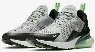 Nike Air Max 270 Cj0520-001 Atmosphere Grey White Men's Size 8.5