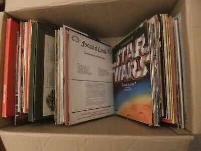 Large Job Lot House Clarence Vintage 85+ Vinyl Records - Mixed Genres/Music (3)