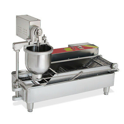 3 Size Commercial Electric Automatic Doughnut Donut Machine Maker 【USA】SHIP