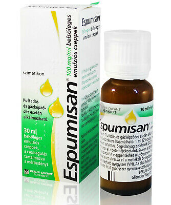 Espumisan 30ml Anti Colic Drops Bloating Stomach Aches Colic Meteorism 100mg