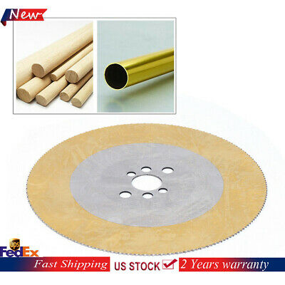"""11/"""" HSS Circular Saw Blade Cutting Disc for Cut Stainless Steel Pipe 275x2x32mm"""