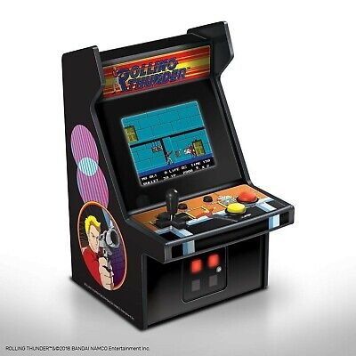 My Arcade Micro Player Mini Arcade Machine: Rolling Thunder Video Game, F... New
