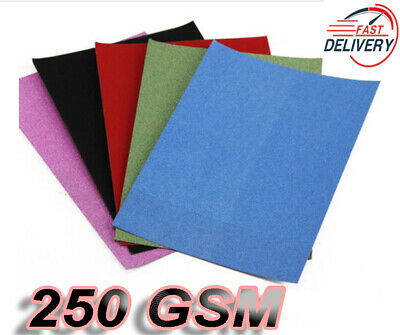10 Sheet Shiny Glitter A4 Size Cards 250Gsm Thick Paper Sheet Self Adhesive Card