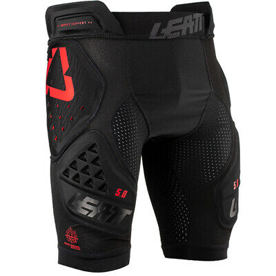 Leatt Gpx 5.0 3Df Black Impact Shorts