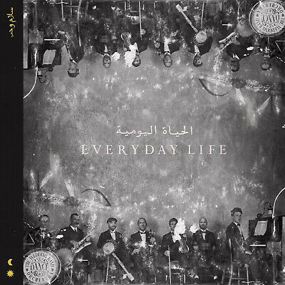 Coldplay - Everyday Life - New Cd Enclosed In A Hardback Book With Song Lyrics