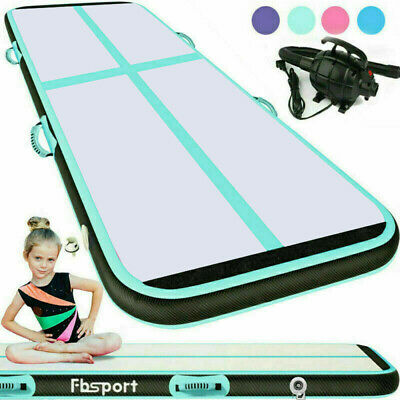 10/13/19/20ft Airtrack Inflatable Air Track Gymnastics Tumbling Mat GYM w/ Pump