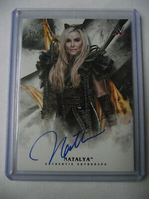 2019 Topps WWE Undisputed - Natalya Autographed Card 173/199