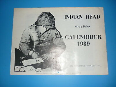 Indian Head Calendrier 1989 - Beau Document -
