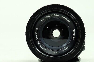 Vivitar TX Mount 24mm f2.8 Lens with M42 Universal Adapter!!!!