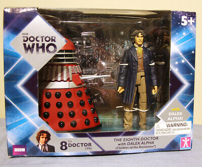 """Doctor Who THE Eighth 8th Doctor Paul McGann action figure 5.5/"""" old #dsae3"""