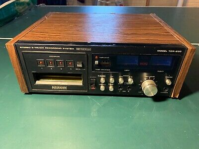 Superscope TDR-830 8-track player By Marantz Tested Working