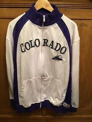 Vintage Colorado Rockies Tracksuit Jacket. Adults Large.