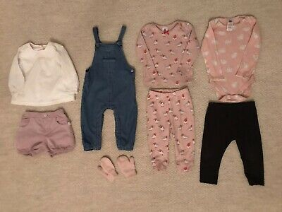 Baby Girl clothes Bundle 6-12 Months M&S Baby Boden Zara Joules