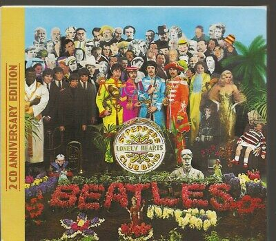 2 Cd Album The Beatles: *Sgt. Pepper's Lonely Hearts Club Band* Parlophone 2017