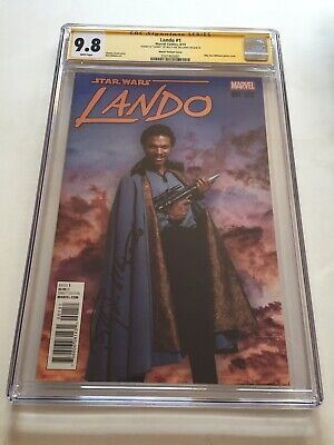 STAR WARS LANDO DOUBLE OR NOTHING 1 1:10 INCENTIVE MOVIE B PHOTO VARIANT NM