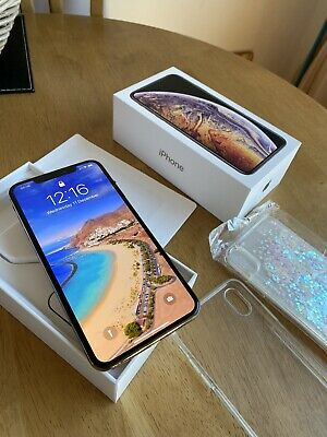 Apple Iphone Xs Max 64gb  Gold unlocked In Beautiful Mint Condition Please See.