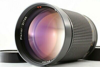 【N MINT】Contax Carl Zeiss Planar T* 135mm F/2 AEG Lens CY Mount From JAPAN #210