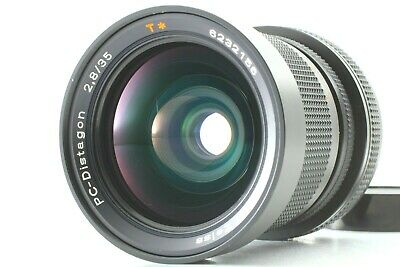 【NEAR MINT】CONTAX Carl Zeiss PC Distagon 35mm F/2.8 T* AEG Lens From JAPAN  #307