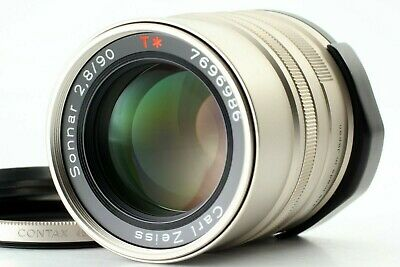 【MINT】Contax Carl Zeiss Sonnar 90mm f/2.8 T* Lens for G1 G2 #194 From JAPAN #194