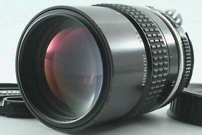 【 Exc +++++ 】Nikon Ai NIKKOR 135mm F/2.8 F2.8 MF Telephoto Lens from JAPAN  # 24
