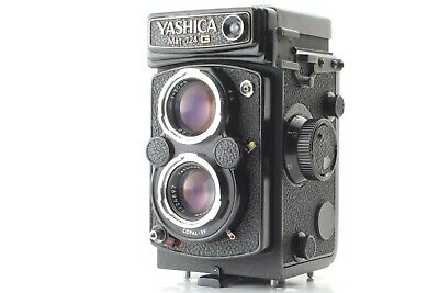 【Excellent+4】Yashica Mat 124G TLR Film Camera Yashinon 80mm f/3.5 From JAPAN#260