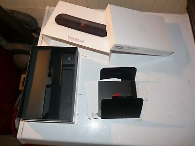 Empty Box Only! Beats Pill Black Beats by Dr. Dre