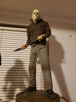 Jason Voorhees Friday The 13Th Premium Format Statue By Sideshow Collectibles