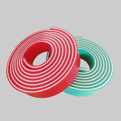 """60/90/60 Triple Durometer Screen Printing Red Squeegee Blade roll 144""""/12 FT"""