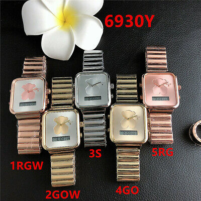 Fashion Watch Bear Digital Watch Personality Square Multifunctional Wristwatches