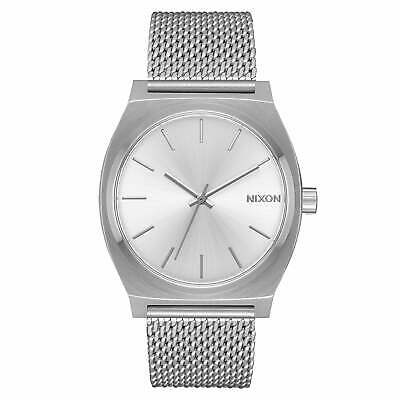 Nixon Time Teller Milanese Unisexe Montre - All Silver Une Taille