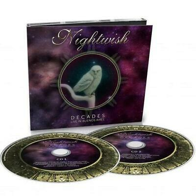 Nightwish Decades Live in Buenos Aires 2 CD Digipak NEW
