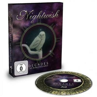 Nightwish Decades Live in Buenos Aires Blu-Ray All Regions NEW
